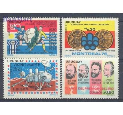 Znaczek Urugwaj 1976 Mi 1432-1435 Czyste **