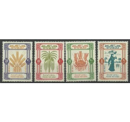 Znaczek Dubaj 1964 Mi 50-53 Czyste **