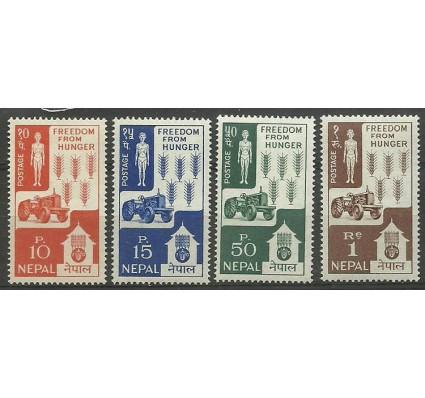 Znaczek Nepal 1963 Mi 168-171 Czyste **
