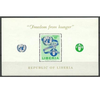 Znaczek Liberia 1963 Mi bl 26 Czyste **