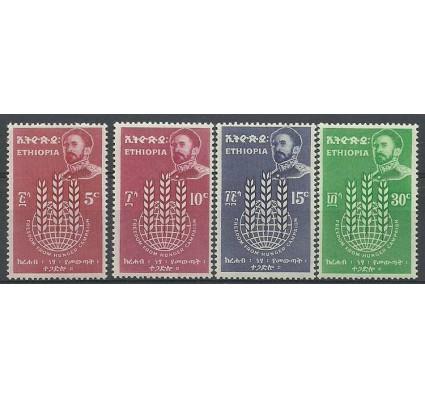 Znaczek Etiopia 1963 Mi 448-451 Czyste **