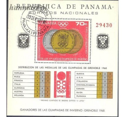 Panama 1968 Mi bl 92 Stemplowane