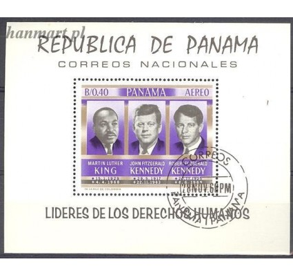 Panama 1968 Mi bl 102 Stemplowane