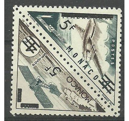 Znaczek Monako 1956 Mi 542-543 Czyste **