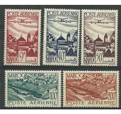 Znaczek Maroko 1947 Mi 268-272 Czyste **