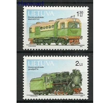 Znaczek Litwa 2002 Mi 794-795 Czyste **