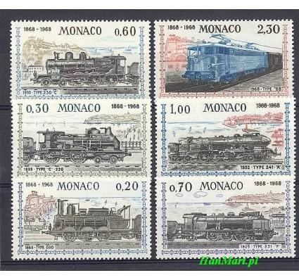 Znaczek Monako 1968 Mi 896-901 Czyste **