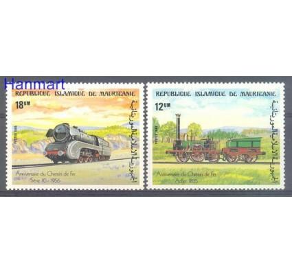 Znaczek Mauretania 1985 Mi 857-858 Czyste **