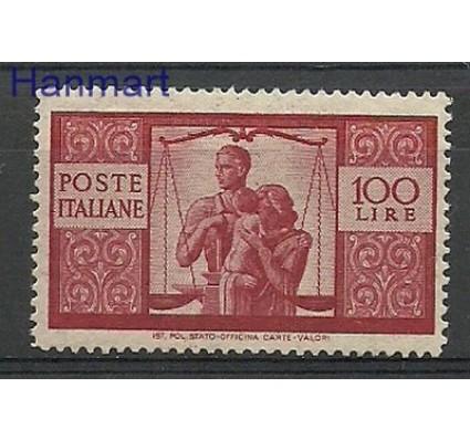 Znaczek Włochy 1946 Mi 704A Czyste **