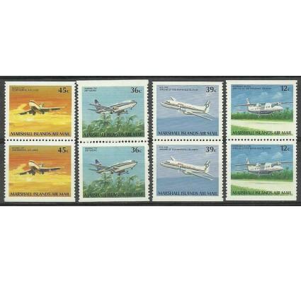 Znaczek Wyspy Marshalla 1989 Mi 217-220D Czyste **