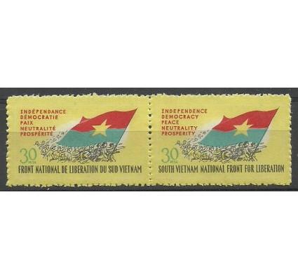 Znaczek Wietnam 1969 Mi vtg21-22 Z podlepką *