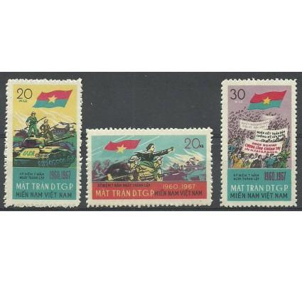 Znaczek Wietnam 1967 Mi vtg12-14 Z podlepką *