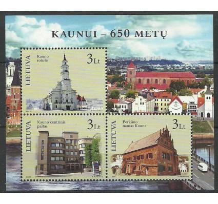 Znaczek Litwa 2011 Mi bl 41 Czyste **