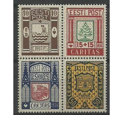 Znaczek Estonia 1938 Mi 131-134 Czyste **