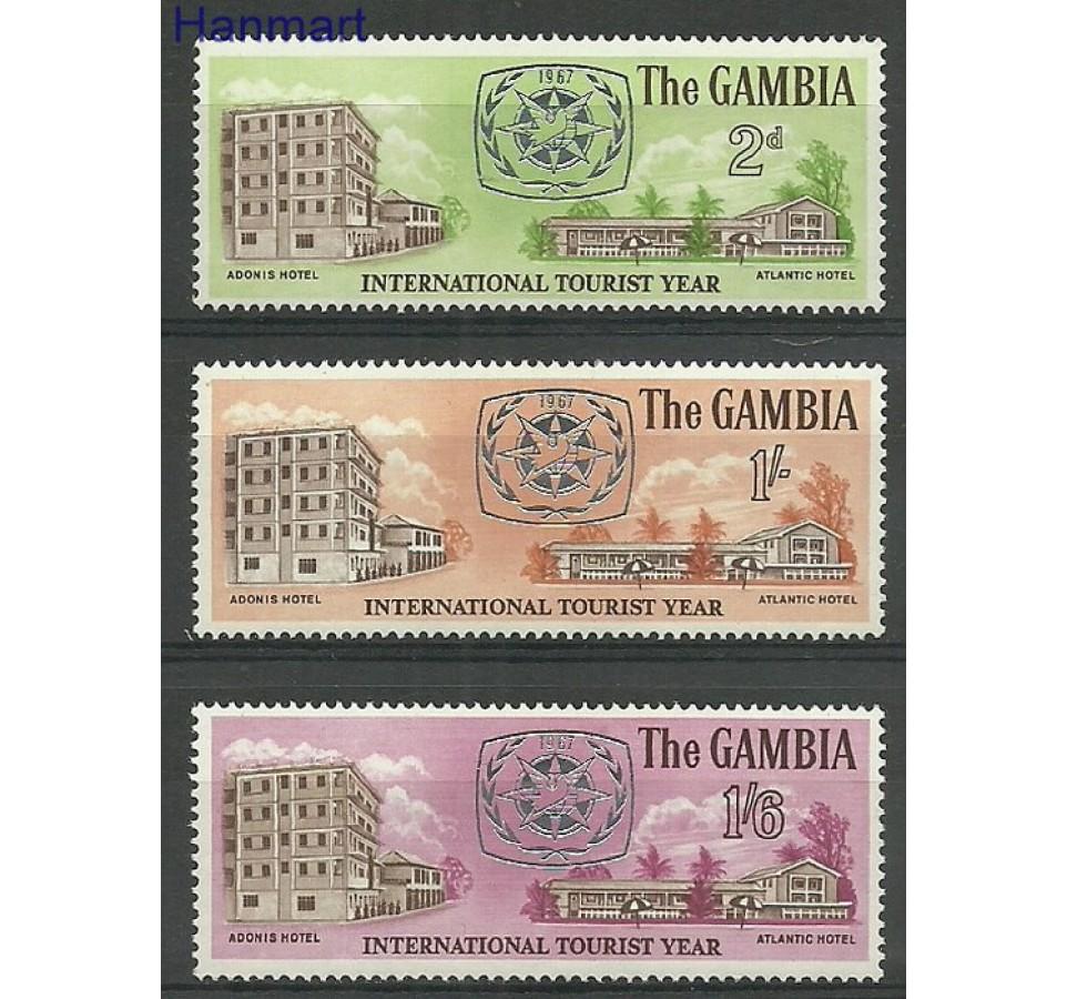 Gambia 1967 Mi 227-229 Czyste **
