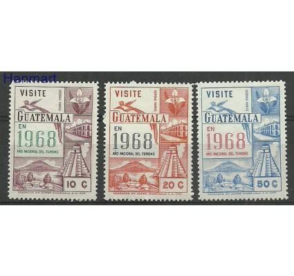 Znaczek Gwatemala 1968 Mi 840-842 Czyste **