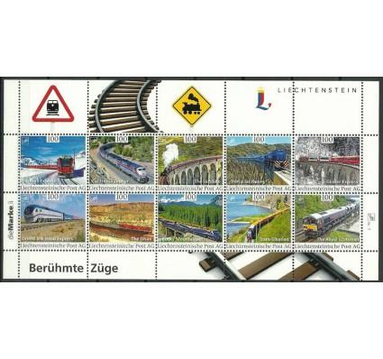 Znaczek Liechtenstein 2017 Mi (TRAINS) Czyste **