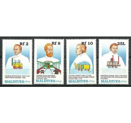 Znaczek Malediwy 1989 Mi 1386+88+90-1391 Czyste **