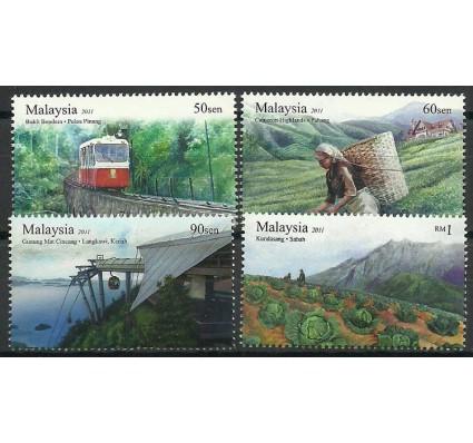 Znaczek Malezja 2011 Mi 1826-1829 Czyste **
