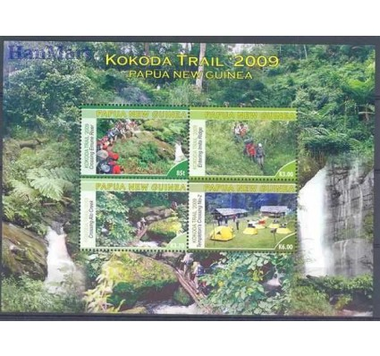 Znaczek Papua Nowa Gwinea 2009 Mi bl 85 Czyste **
