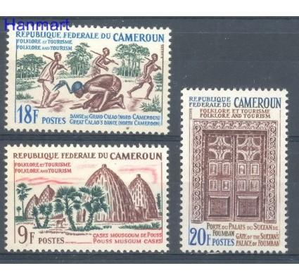 Znaczek Kamerun 1965 Mi 446-448 Czyste **
