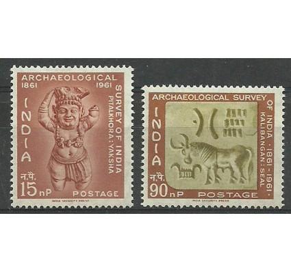 Znaczek Indie 1961 Mi 332-333 Z podlepką *