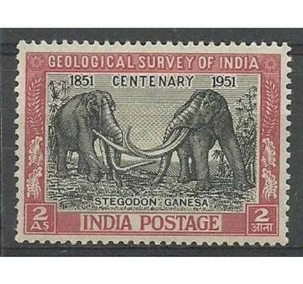 Znaczek Indie 1951 Mi 218 Z podlepką *