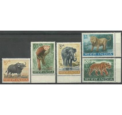 Znaczek Indie 1963 Mi 358-362 Z podlepką *