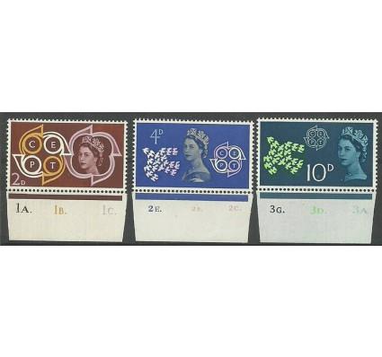 Znaczek Wielka Brytania 1961 Mi 346-348 Czyste **