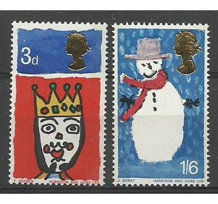 Znaczek Wielka Brytania 1966 Mi 442-443y Czyste **