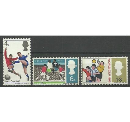 Znaczek Wielka Brytania 1966 Mi 422-424y Czyste **