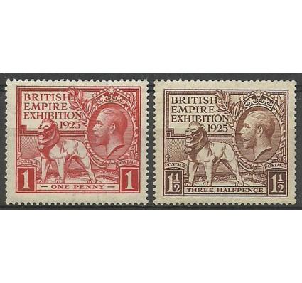Znaczek Wielka Brytania 1925 Mi 168-169 Czyste **
