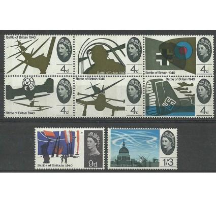 Znaczek Wielka Brytania 1965 Mi 394-401y Czyste **