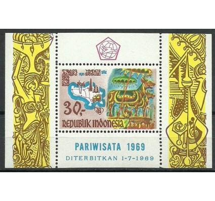 Znaczek Indonezja 1969 Mi bl 15 Czyste **