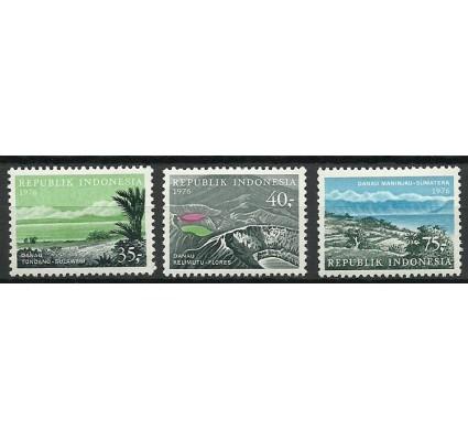 Znaczek Indonezja 1976 Mi 840-842 Czyste **
