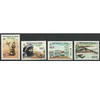Znaczek Niger 1987 Mi 1027-1030 Czyste **