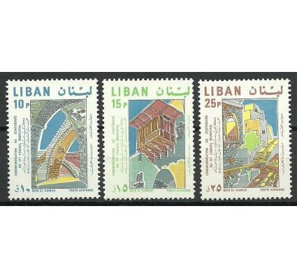 Znaczek Liban 1968 Mi 1075-1077 Czyste **