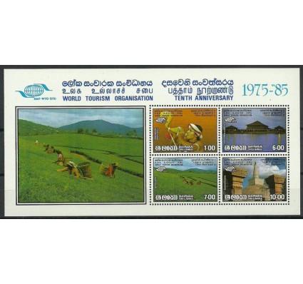 Znaczek Sri Lanka 1985 Mi bl 29 Czyste **