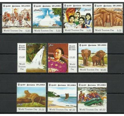 Znaczek Sri Lanka 2011 Mi 1852-1861 Czyste **