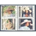 Polinezja Francuska 1983 Mi 376-379 Czyste **