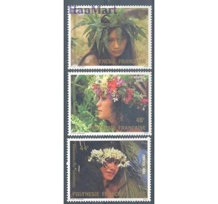 Znaczek Polinezja Francuska 1983 Mi 386-388 Czyste **