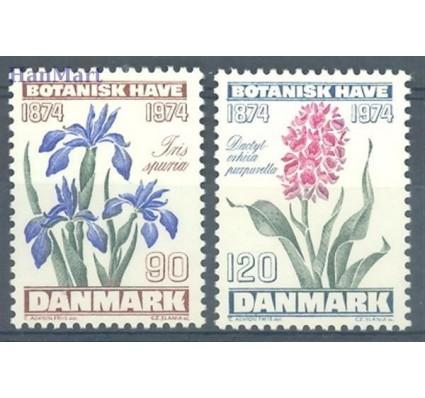 Znaczek Dania 1974 Mi 575-576 Czyste **