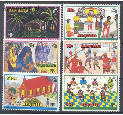 Anguilla 1979 Mi 329-334 Czyste **