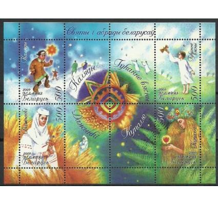 Znaczek Białoruś 2009 Mi bl 63 Czyste **