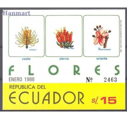 Znaczek Ekwador 1986 Mi bl 122 Czyste **