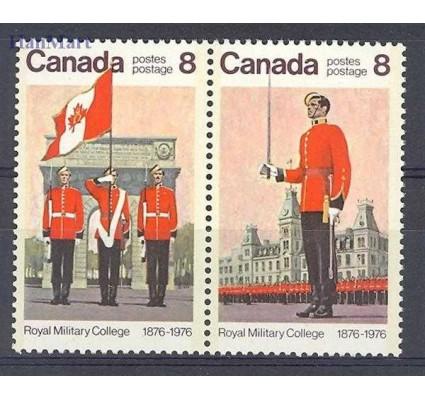 Znaczek Kanada 1976 Mi 628-629 Czyste **