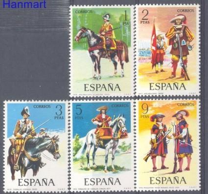 Znaczek Hiszpania 1974 Mi 2062-2066 Czyste **