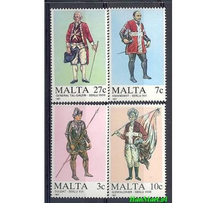 Znaczek Malta 1987 Mi 768-771 Czyste **