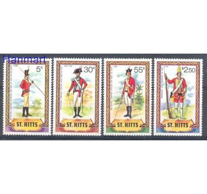 Znaczek Saint Kitts 1981 Mi 62-65 Czyste **