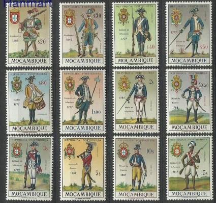 Znaczek Mozambik 1966 Mi 525-526 Czyste **